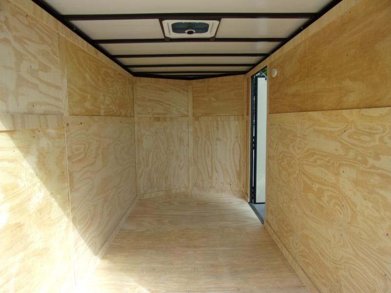 *113139* 6x12 Enclosed Cargo Trailer  LRT Tandem Axle Trailers 6 x 12