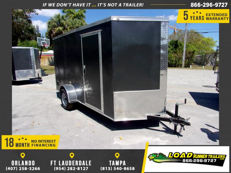 *114659* 6x12 Enclosed Cargo Trailer |LRT Haulers & Trailers 6 x 12