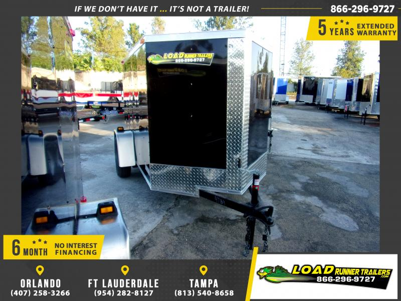 *111730* 5x8 Enclosed Cargo Trailer |LRT Haulers & Trailers 5 x 8