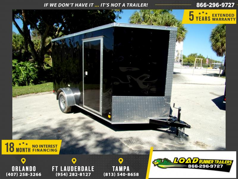 *115019* 7x12 Enclosed Cargo Trailer |LRT Haulers & Trailers 7 x 12