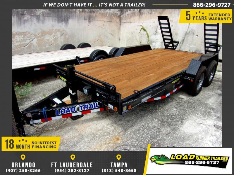 *117074* 7x16 Equipment Trailer |LRT Tandem Axle Trailers 7 x 16