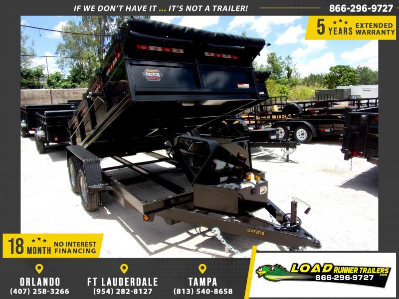 "*117903* 6x12 7K Dump Trailer W/27"" Sides 6 x 12"