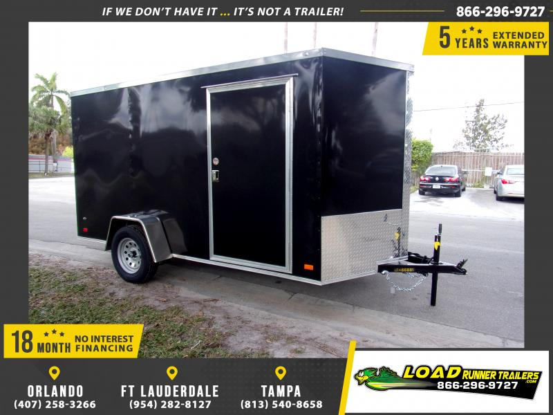 *113285* 6x12 Enclosed Cargo Trailer |LRT Haulers & Trailers 6 x 12