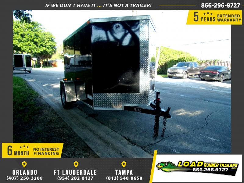 *111728* 5x8 Enclosed Cargo Trailer |LRT Haulers & Trailers 5 x 8
