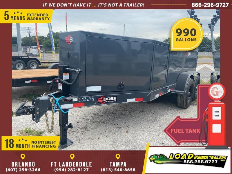 *115190* 5x10 Fuel Tank Trailer | LRT Tank Trailers 5 x 10