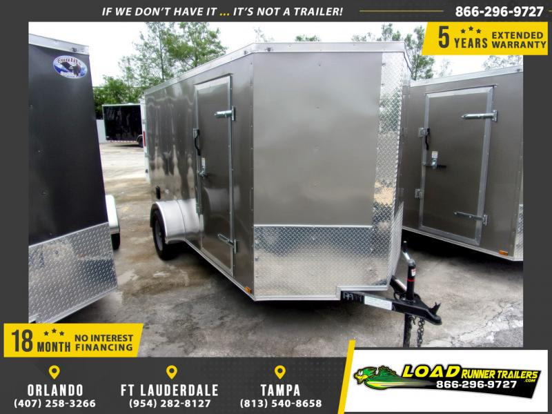 *109782* 6x12 Enclosed Cargo Trailer |LRT Haulers & Trailers 6 x 12