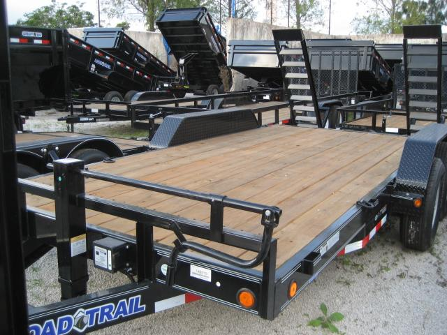 *EQ11* 7x16 7 TON Equipment & Car Hauler Trailer |LR Trailers 7 x 16 | EQ83-16T7-KR