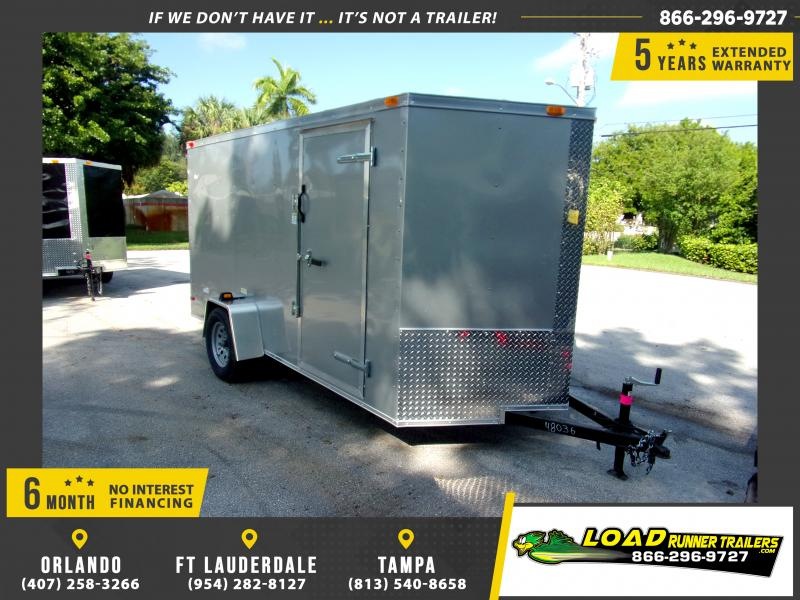 *112351* 6x12 Enclosed Cargo Trailer |LRT Haulers & Trailers 6 x 12
