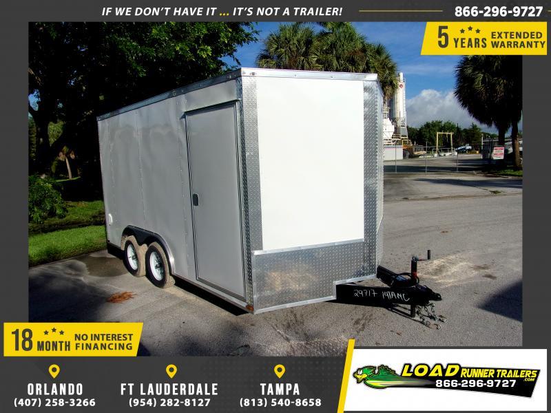 *117583* 8.5x14 Enclosed Cargo Trailer |LRT Tandem Axle Trailers 8.5 x 14