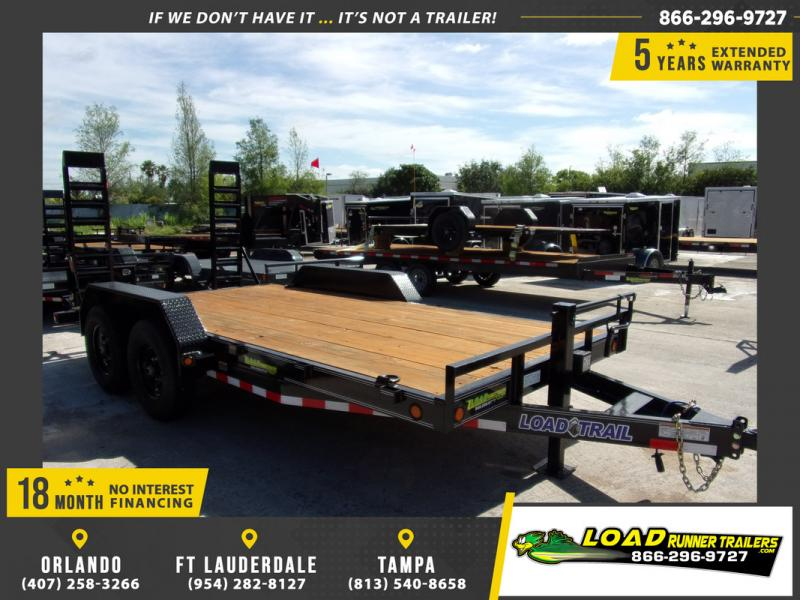 *109154* 7x16 Equipment Trailer |LRT Tandem Axle Trailers 7 x 16