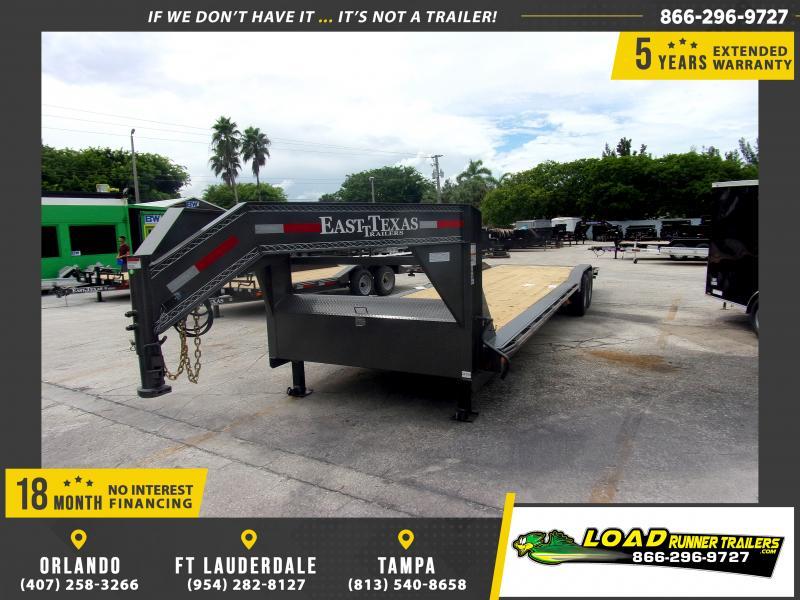 *117782* 8.5x32 Gooseneck Car Trailer  LRT Tandem Axle Trailers 8.5 x 32