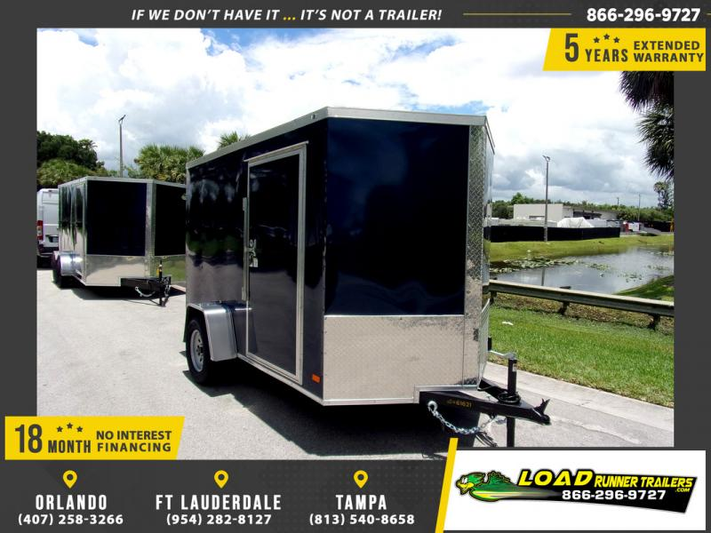 *114812* 6x10 Enclosed Cargo Trailer |LRT Haulers & Trailers 6 x 10