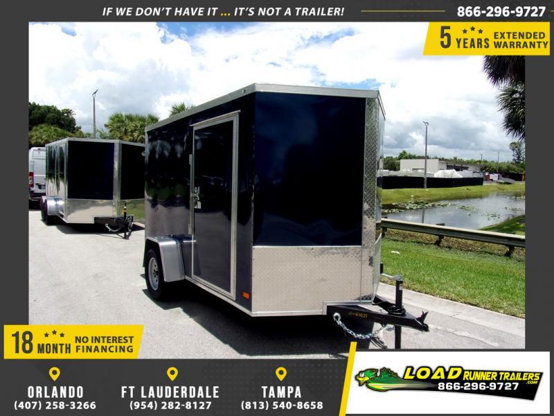 *114812* 6x10 Enclosed Cargo Trailer |LRT Haulers & Trailers 6 x 10