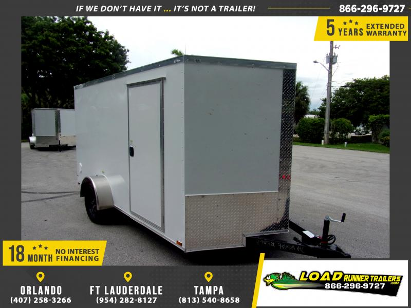 *116686* 7x12 Enclosed Cargo Trailer |LRT Haulers & Trailers 7 x 12