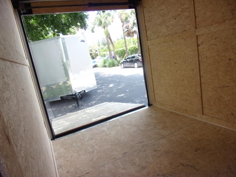*116497* 7x12 Enclosed Cargo Trailer  LRT Haulers & Trailers 7 x 12