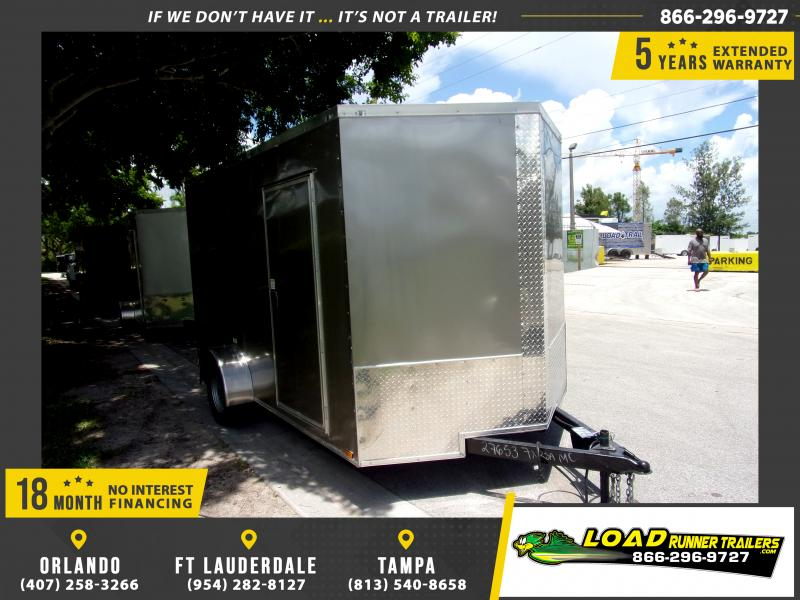 *116497* 7x12 Enclosed Cargo Trailer |LRT Haulers & Trailers 7 x 12
