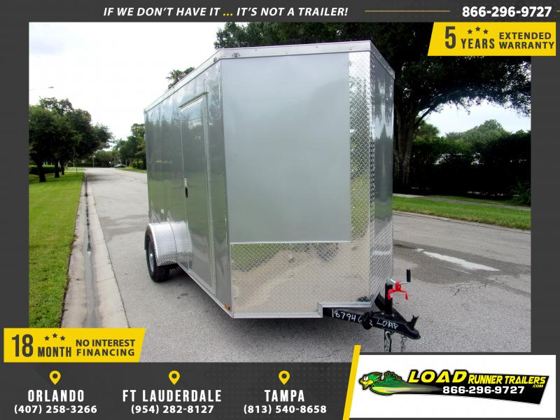 *110387* 6x12 Enclosed Cargo Trailer |LRT Haulers & Trailers 6 x 12