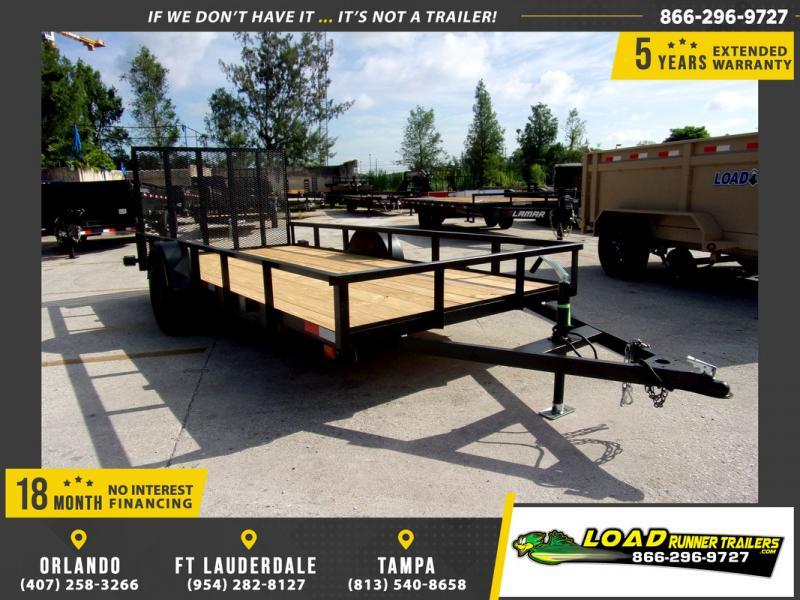 *110314* 6x14 Utility|Lawn|ATV|Multipurpose Trailer |LRT Haulers & Trailers 6 x 14