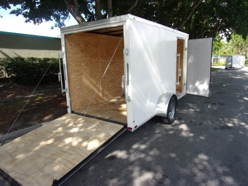 *115833* 6x12 Enclosed Cargo Trailer |LRT Haulers & Trailers 6 x 12
