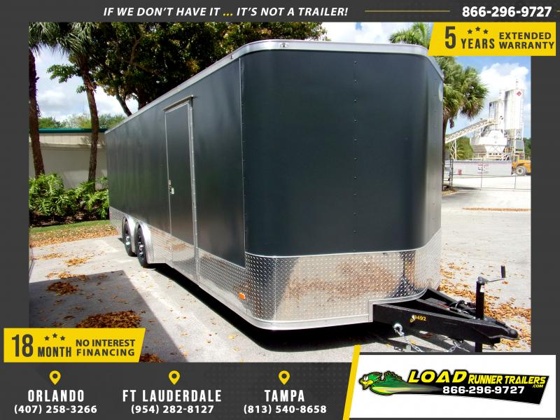 *114549* 8.5x24 Enclosed Cargo Trailer |LRT Tandem Axle Trailers 8.5 x 24