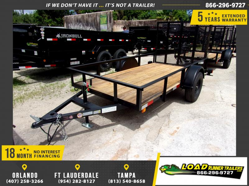 *117431* 5x10 Utility|Lawn|ATV|Multipurpose Trailer |LRT Haulers & Trailers 5 x 10
