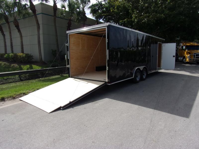 *112439* 8.5x24 Enclosed Cargo Trailer |LRT Tandem Axle Trailers 8.5 x 24