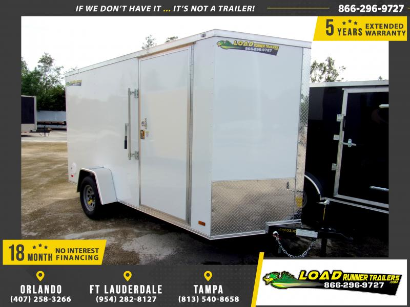 *111315* 6x12 Enclosed Cargo Trailer |LRT Haulers & Trailers 6 x 12