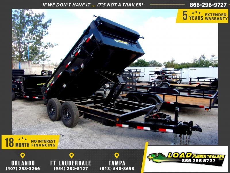 *112707* 6x12 Dump Trailer |LRT Tandem Axle Trailers 6 x 12