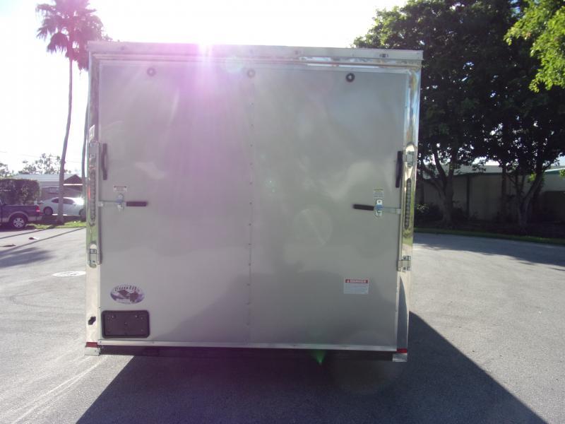 *117335* 8.5x24 Enclosed Cargo Trailer  LRT Tandem Axle Trailers 8.5 x 24