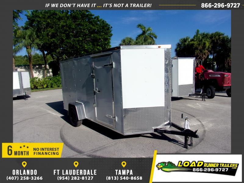 *116611* 6x12 Enclosed Cargo Trailer |LRT Haulers & Trailers 6 x 12