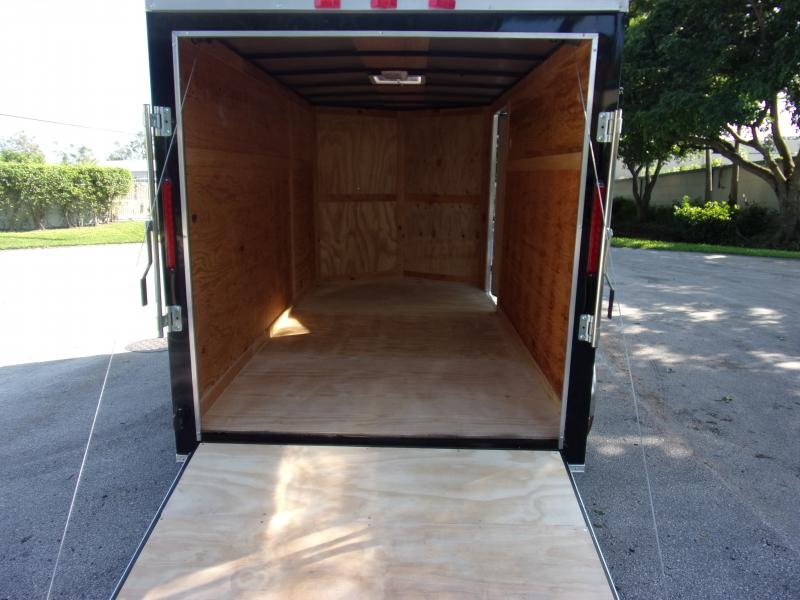 *112353* 6x12 Enclosed Cargo Trailer  LRT Tandem Axle Trailers 6 x 12