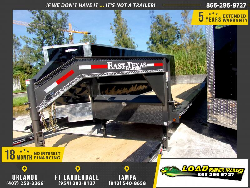 *117960* 8.5x36 Gooseneck Car Trailer |LRT Tandem Axle Trailers 8.5 x 36