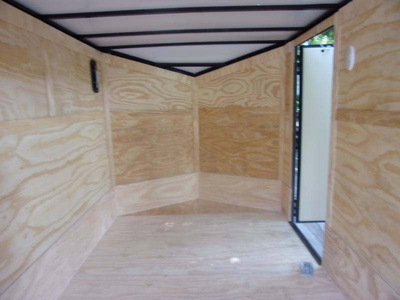 *112057* 7x16 Enclosed Cargo Trailer |LRT Tandem Axle Trailers 7 x 16