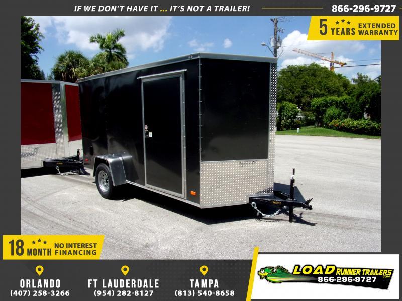 *117395* 6x12 Enclosed Cargo Trailer  LRT Haulers & Trailers 6 x 12