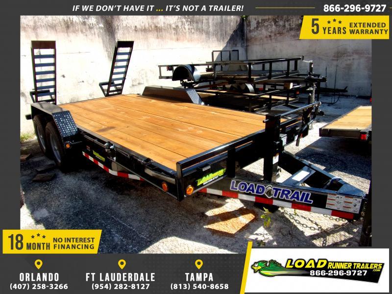 *117004* 7x18 All Aluminum Car Hauler Trailer |LRT Trailers and Haulers 7 x 18