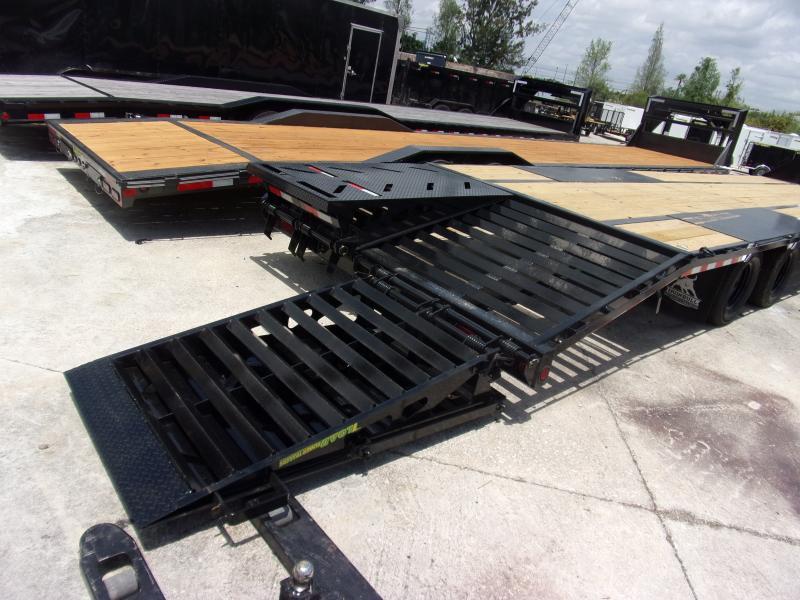 *114879* 8.5x36 Gooseneck Flatbed Deck Over Trailer |LRT Haulers & Trailers 8.5 x 36