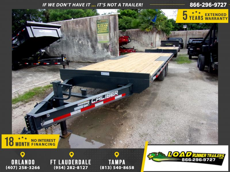 *116702* 8.5x20 Flatbed Deck Over Trailer  LRT Tandem Axle Trailers 8.5 x 20