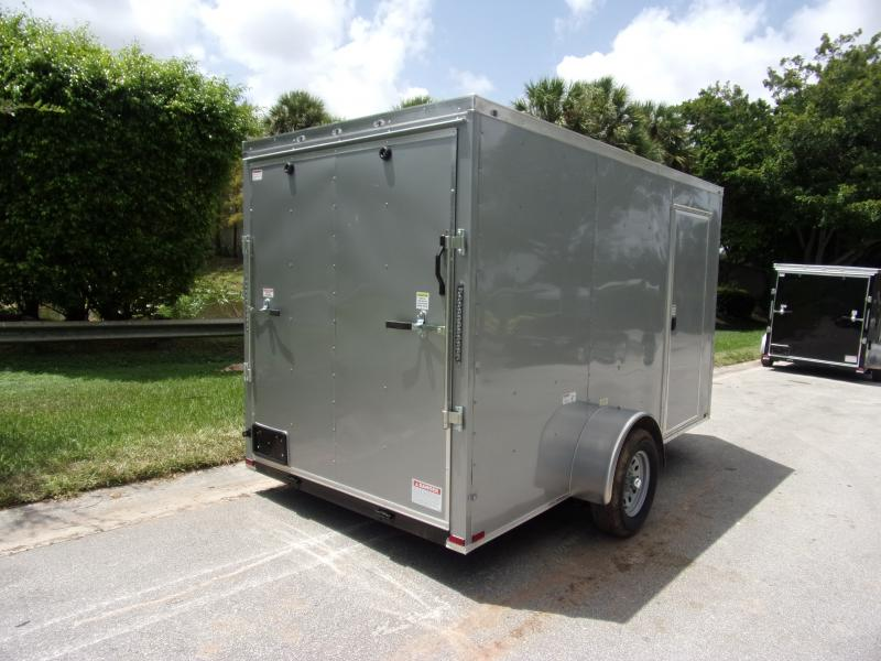 *111255* 6x12 Enclosed Cargo Trailer |LRT Haulers & Trailers 6 x 12