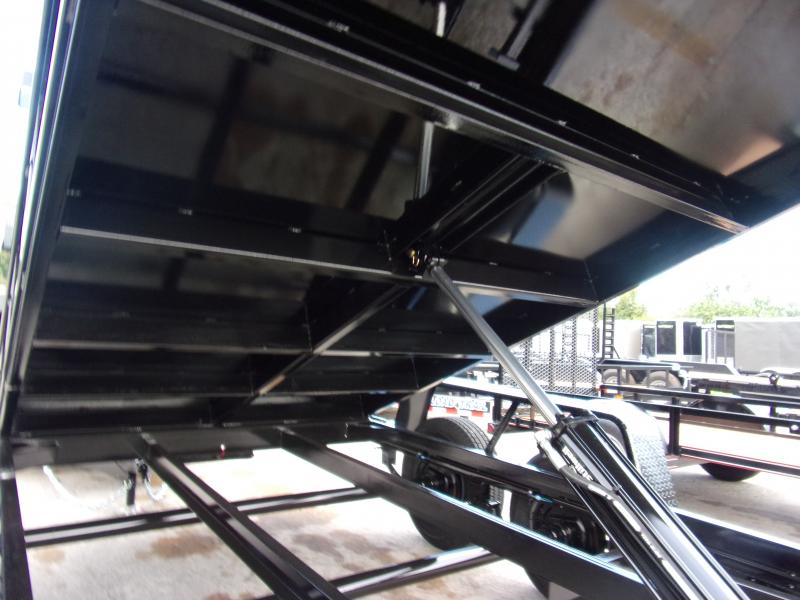 *117757* 6x12 5 TON Dump Trailer  LRT Trailers & Dumps 6 x 12