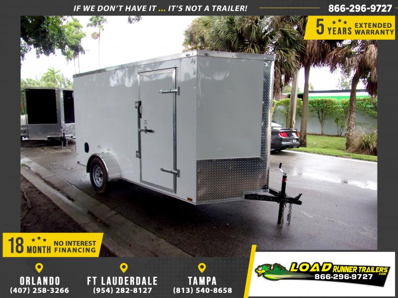 *111672* 6x12 Enclosed Cargo Trailer |LRT Haulers & Trailers 6 x 12