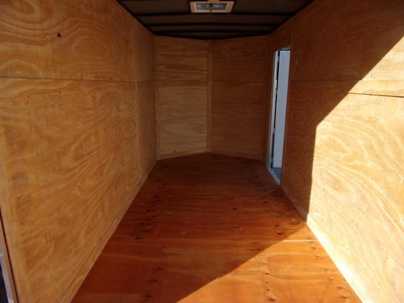 *111244* 6x12 Enclosed Cargo Trailer |LRT Tandem Axle Trailers 6 x 12