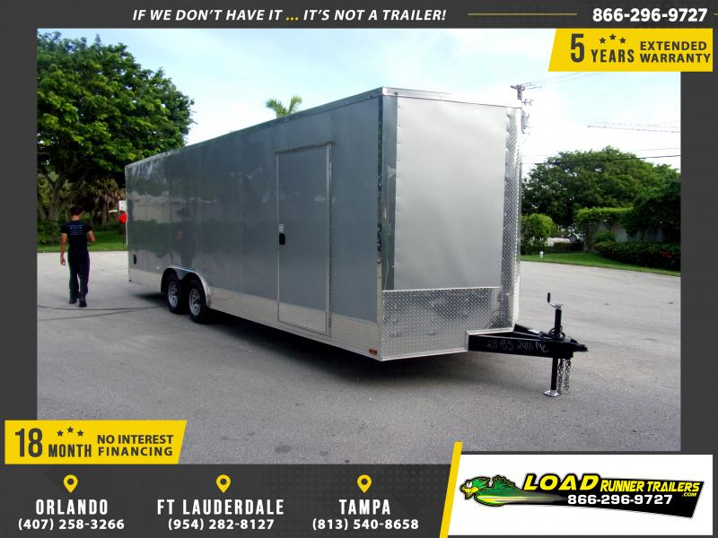 *116839* 8.5x24 Enclosed Cargo Trailer |LRT Tandem Axle Trailers 8.5 x 24