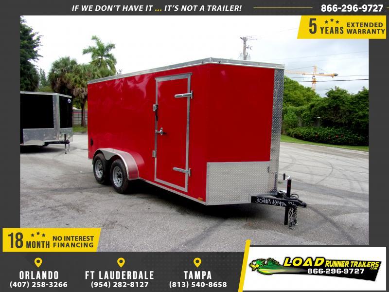 *118103* 6x14 Enclosed Cargo Trailer |LRT Tandem Axle Trailers 6 x 14