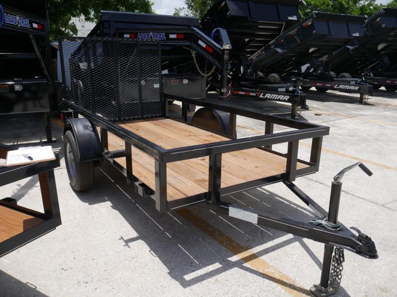 *U45* 5x10 Utility Lawn Trailer LR Trailers 5 x 10 | U60-10S3-TR