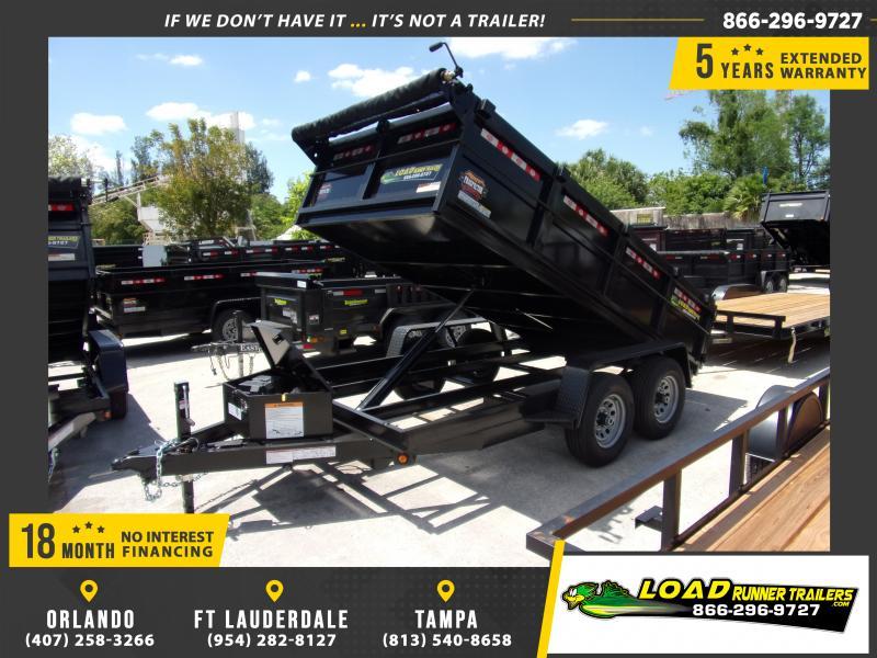 *114943* 6x12 5 TON Dump Trailer |LRT Trailers & Dumps 6 x 12