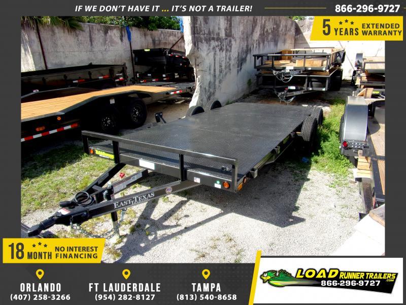 *113557* 7x18 Car Trailer |LRT Tandem Axle Trailers 7 x 18