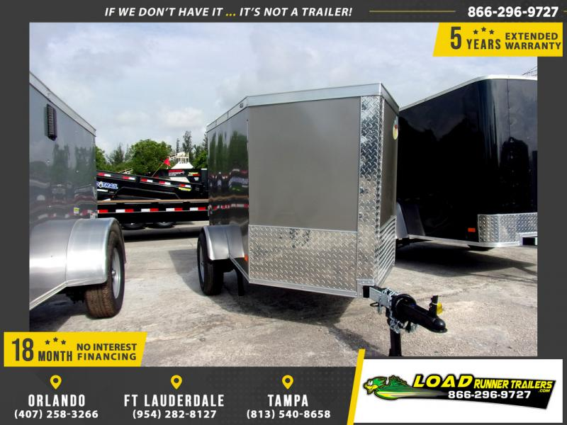 *109770* 4x6 Enclosed Cargo Trailer |LRT Haulers & Trailers 4 x 6