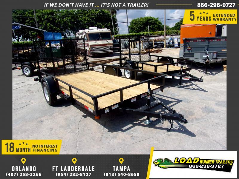 *116678* 6x12 Utility|Lawn|ATV|Multipurpose Trailer |LRT Haulers & Trailers 6 x 12