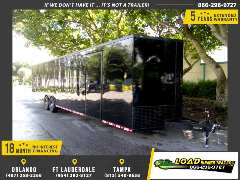 *111432* 8.5x32 Enclosed Cargo Trailer |LRT Tandem Axle Trailers 8.5 x 32