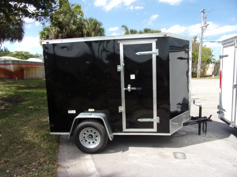 *114637* 5x8 Enclosed Cargo Trailer |LRT Haulers & Trailers 5 x 8